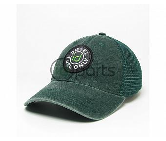 Diesel Fuel Only Trucker Hat - Green