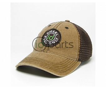 Diesel Fuel Only Trucker Hat - Brown