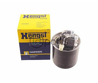 Fuel Filter w/ 5-Pin Plug [Hengst] (OM642 Late)(OM651 Early)