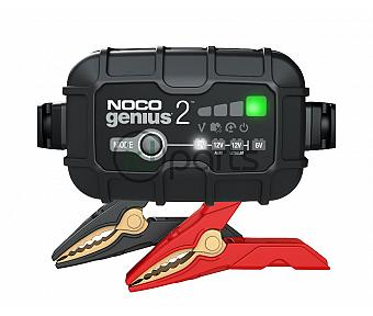 NOCO GENIUS2 6V/12V 2-Amp Smart Battery Charger