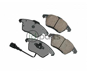 Akebono EURO Ultra Premium Ceramic Disc Brake Pad Kit - Front (A5)(Mk6)
