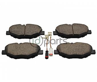 Akebono EURO Ultra Premium Ceramic Disc Brake Pad Kit - Front (W211)
