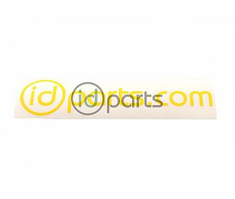 IDParts Sticker Decal Yellow