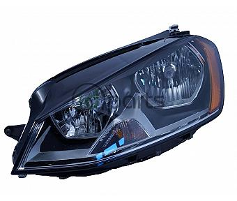 Golf Headlight Left (MK7)