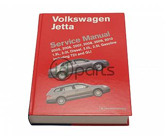 Bentley Service Manual Paper for Jetta (A5)