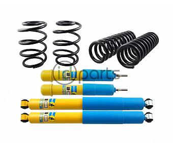 Bilstein HD + Moog Springs Complete Suspension Set (Liberty KJ)