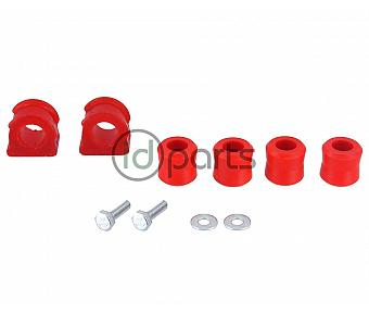 21mm Polyurethane Sway Bar and Link Bushing Kit (A4)