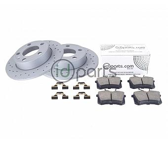 Performance Rear Brake Set (A4)