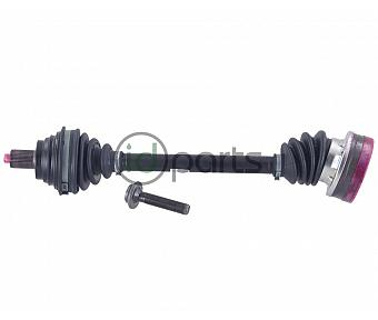 Complete Axle - Left (BRM Manual)