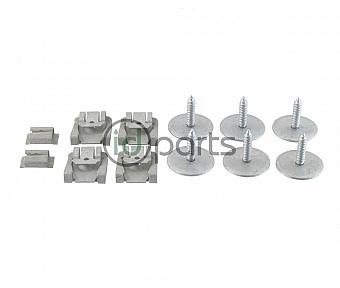 Belly Pan Screw & Clip Set (W211)