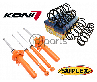 Koni + Springs Complete Suspension Set (A5)(Mk6)