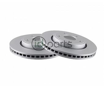 Bosch QuietCast Front Rotor Pair (WK)