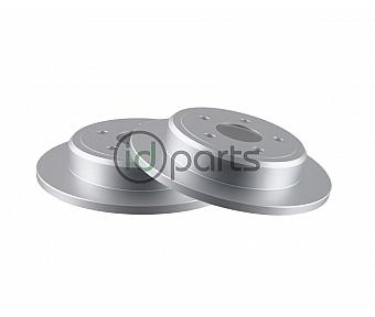 Bosch QuietCast Rear Rotor Pair (WK)