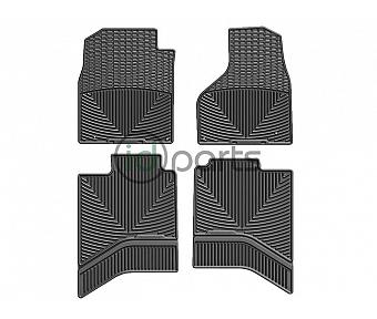 WeatherTech Floor Mats - Front & Rear Set (Ram Ecodiesel)