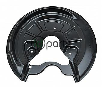 Brake Rotor Splash Shield - Rear Left [OEM] (A5 260mm)