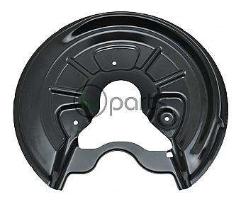 Brake Rotor Splash Shield - Rear Right [OEM] (A5 260mm)