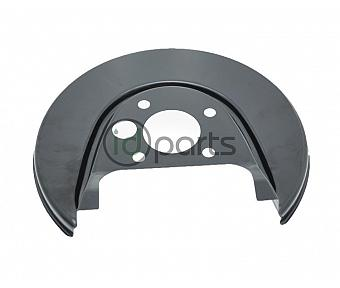 Brake Rotor Splash Shield - Rear Left [OEM] (A4)