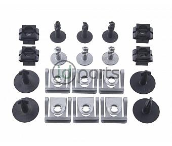 Belly Pan Screw and Clip Set (BHW)