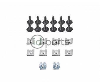 Belly Pan Screw and Clip Set (A4)