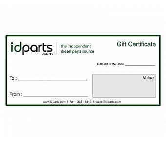 $100 IDParts Gift Certificate