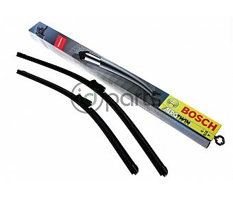 Bosch Complete Wiper Blade Set (Late A5)(Mk6 Golf)