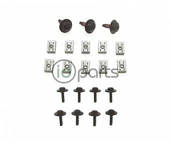 Belly Pan Screw and Clip Set (A5)(Mk6 Golf, Sportwagen)